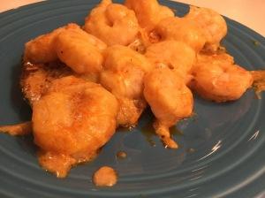 Buffalo Shrimp Portobellos: Portobello Mushroom Caps, Shrimp, Buffalo Wing Sauce, Ranch Dressing, Cream Cheese, Mozzarella Cheese
